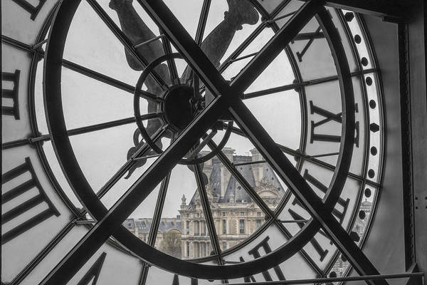 Wall Art - Photograph - D'orsay Clock Paris by Joan Carroll