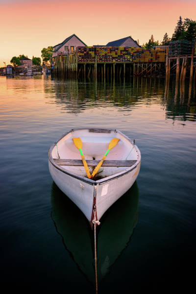 Photograph - Dory In Bernard Harbor by Rick Berk