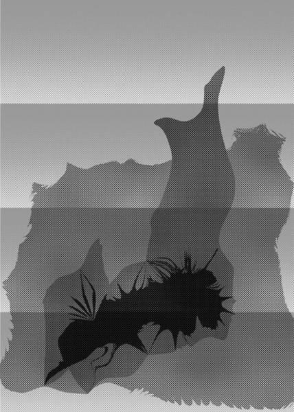 Digital Art - Dot Splat Strata by Kevin McLaughlin