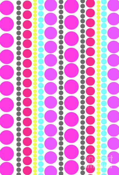 Spots Digital Art - Dots by Louisa Knight