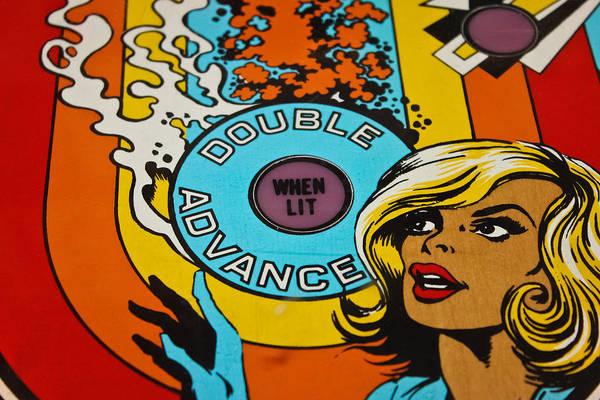 Kammerer Wall Art - Photograph - Double Advance - Pinball by Colleen Kammerer