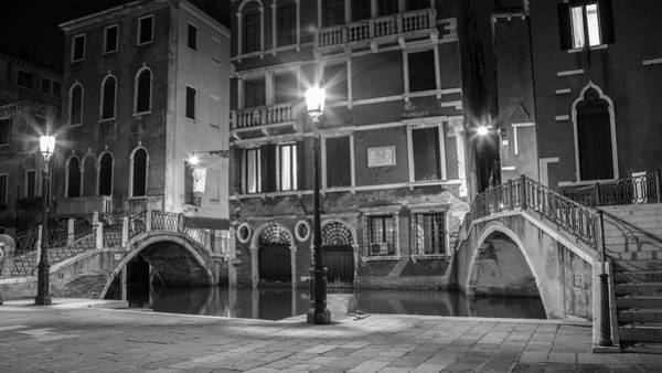 Photograph - Double Bridge In Venice Italy  by John McGraw