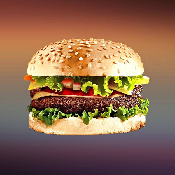 Digital Art - Double Cheeseburger  by Movie Poster Prints
