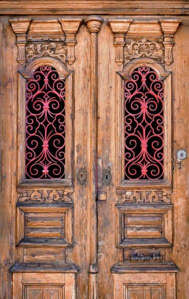 Lock Gates Photograph - Double Door by Carlos Caetano