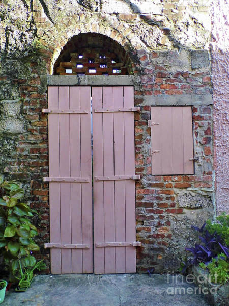 Flagler Photograph - Double Doors And A Window by D Hackett
