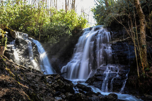 Photograph - Double Falls by CK Brown