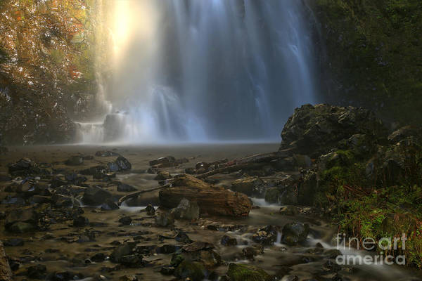Photograph - Double Falls Creek by Adam Jewell