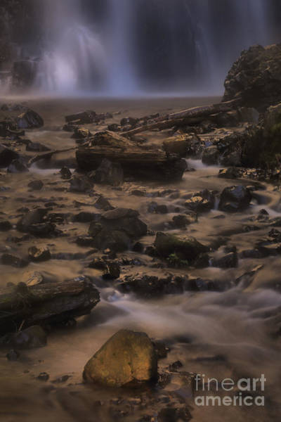 Photograph - Double Falls Magic by Adam Jewell