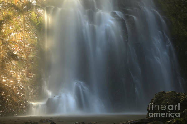 Photograph - Double Falls Streams by Adam Jewell