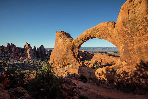 Photograph - Double O Arch by Whit Richardson