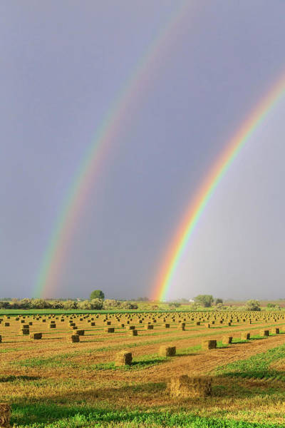 Photograph - Double Rainbow 6-12-16 by James BO Insogna