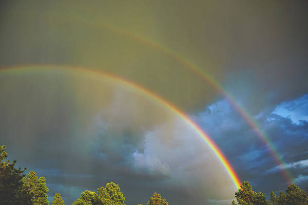 Photograph - Double Rainbow Blues by Jason Coward