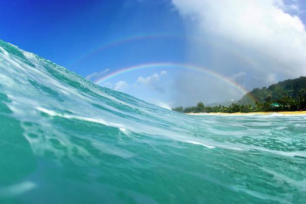 Wall Art - Photograph - Double Rainbow by Sean Davey