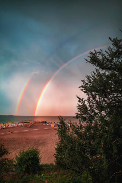 Wall Art - Photograph - Double Rainbows by Adrian Malanca