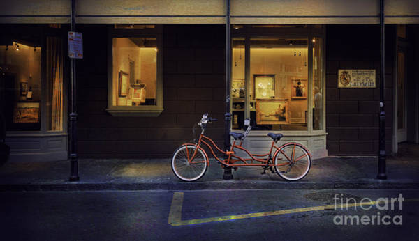 Photograph - Double Seater Fine Art Bicycle by Craig J Satterlee