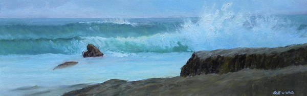 Painting - Double Wave by Scott W White