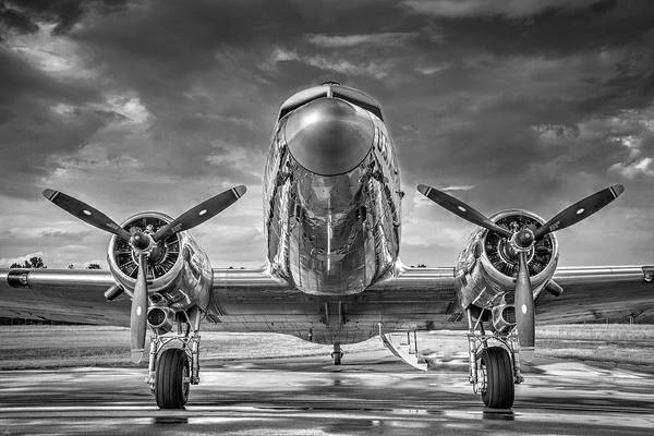 Wall Art - Photograph - Douglas Dc3 by Philip Rispin