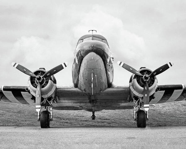 Photograph - Douglass C-47 Skytrain - Gooney Bird by Gary Heller