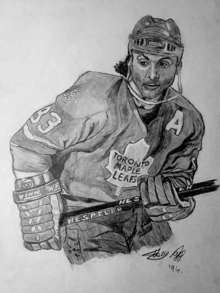 Toronto Drawing - Dougy by Mike N