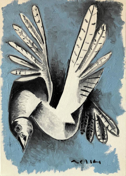 Dove  Art Print by Mark M Mellon