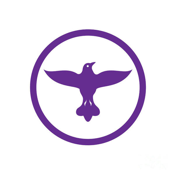 Wall Art - Digital Art - dove-spreading-wings-FRONT-CIRC by Aloysius Patrimonio