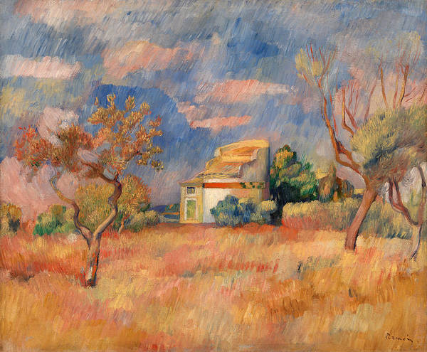 Wall Art - Painting - Dovecote At Bellevue by Pierre-Auguste Renoir