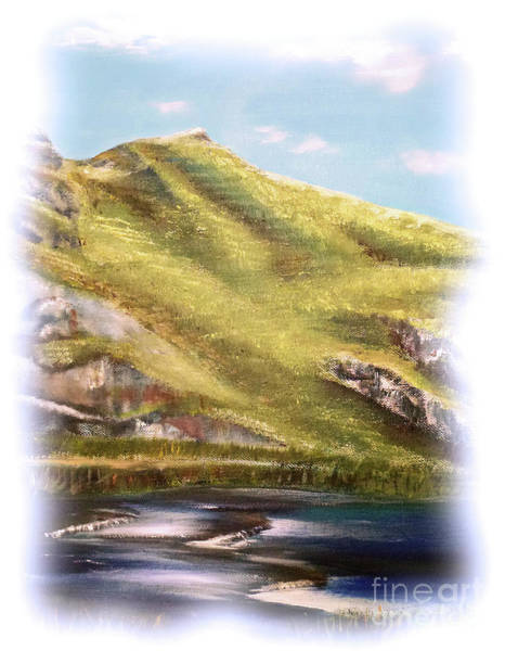 Painting - Dovedale by Elizabeth Lock