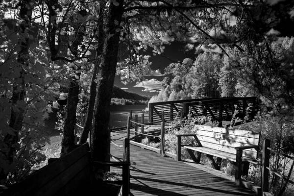 Photograph - Dover Boardwalk by Lee Santa