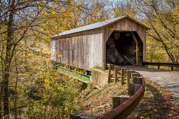 Photograph - Dover Covered Bridge by Jack R Perry