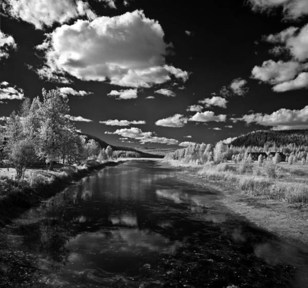 Photograph - Dover Slough In Infrared by Lee Santa