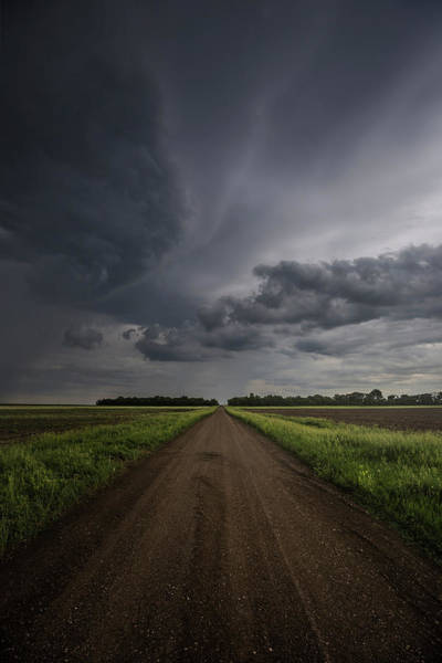 Middle Of Nowhere Photograph - Down A Little Dirt Road  by Aaron J Groen
