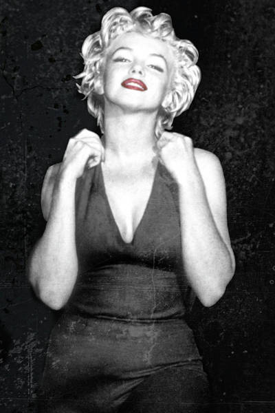 Wall Art - Photograph - Down And Dirty Marilyn by Daniel Hagerman