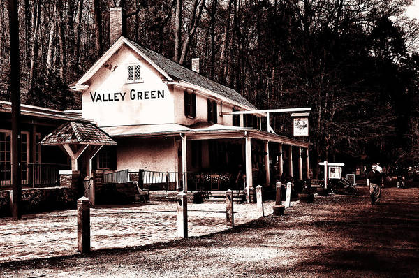 Digital Art - Down At Valley Green by Bill Cannon