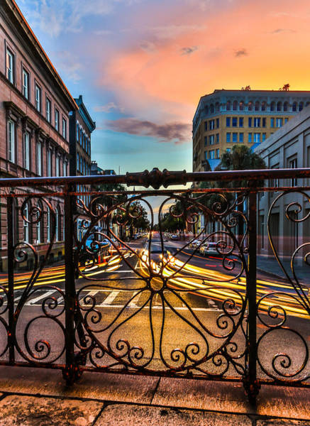 Photograph - Down Broad St. - Charleston Sc by Donnie Whitaker