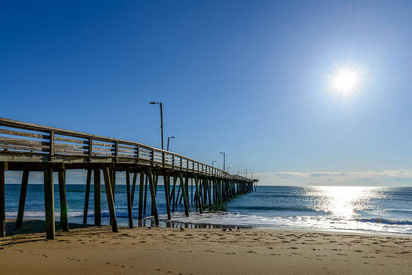 Photograph - Down By The Pier by Michael Scott