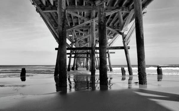 Daytona Photograph - Down By The Pier by Peter Chilelli