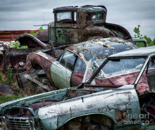 Beyond Repair Photograph - Down In The Dumps 3 by Bob Christopher
