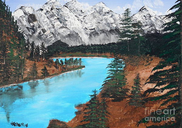 Painting - Down In The Valley by Jimmy Clark