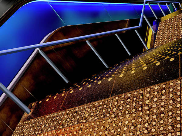 Photograph - Down Stairs by Paul Wear