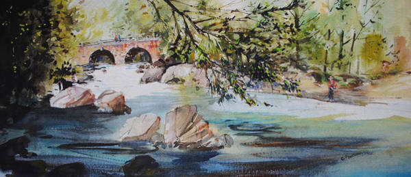 Painting - Down Stream by P Anthony Visco