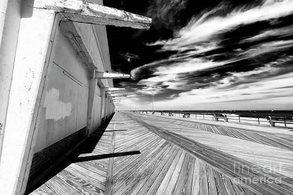 Photograph - Down The Asbury Park Boardwalk by John Rizzuto