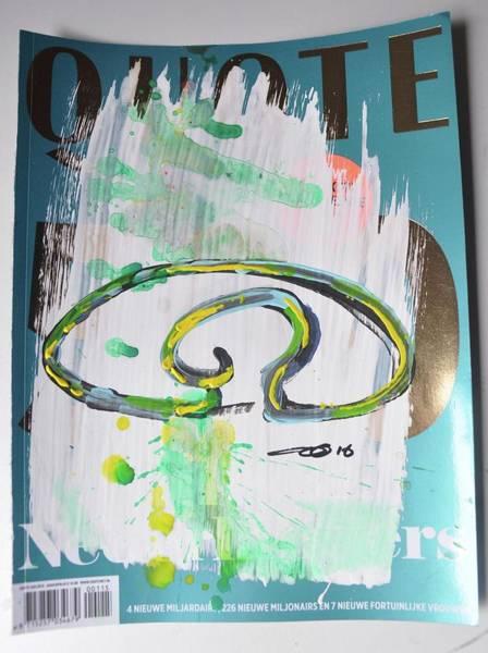 Down The Drain Wall Art - Painting - Down The Drain A by Eduard Meinema
