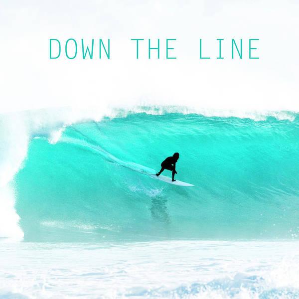 Wall Art - Photograph - Down The Line. by Sean Davey