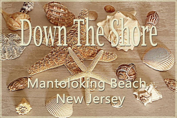 Photograph - Down The Shore - Mantoloking Beach, New Jersey by Angie Tirado