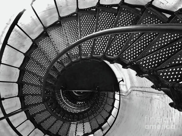 Photograph - Down The Staircase by D Hackett