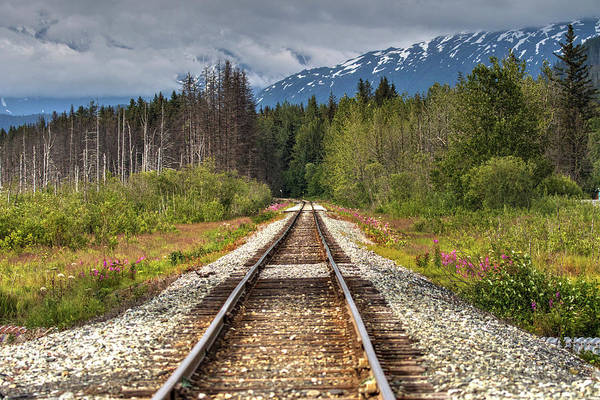 Photograph - Down The Tracks by Gloria Anderson