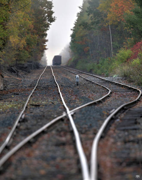 Photograph - Down The Tracks by John Meader