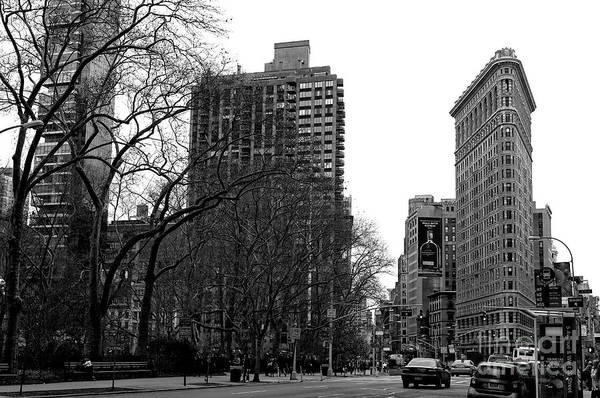 Photograph - Down To The Flatiron Building by John Rizzuto