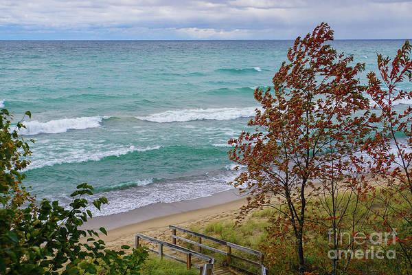 Photograph - Down To The Shore by Rachel Cohen