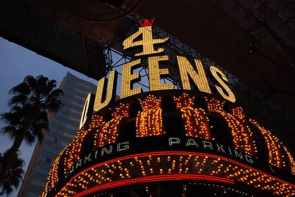Photograph - Down Town Las Vegas Lights by Susanne Van Hulst